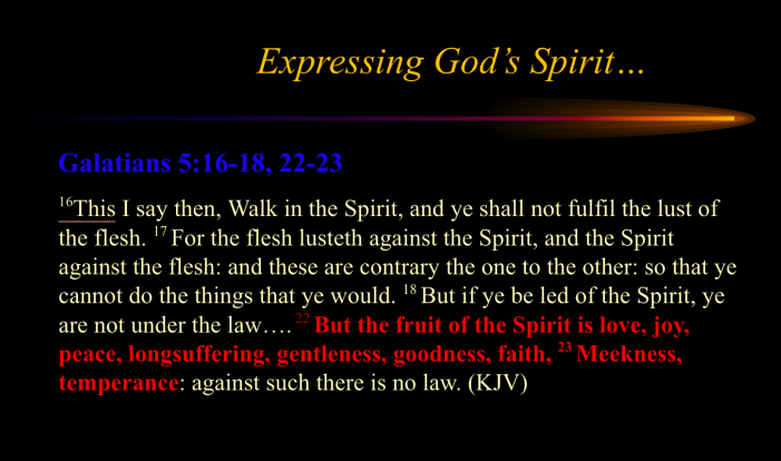 Experiencing God's Spirit
